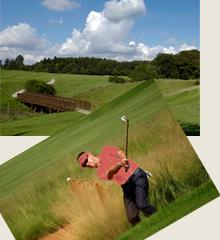 golfen arrangement in Eifel