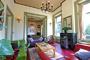 gezellige woonkamer in luxe vakantiehuis, Drenthe